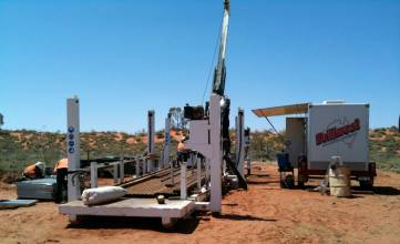 Drillwest has been operating three LF90D Diamond Drilling rigs since 2007. Each is capable of drilling to depths of 635 metres HQ, 940 metres NQ and 420 metres PQ.